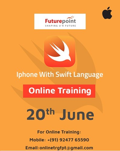 Iphone with swift language Training course